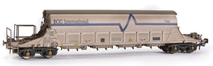 E87014 PBA Tiger Clay Wagon ECC International White Weathered TRL 11627