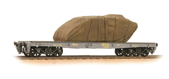 38-740 40T Parrot bogie wagon WD Grey with sheeted tank