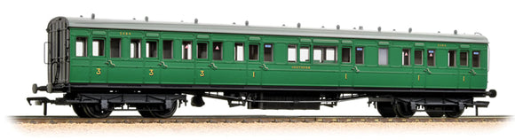 39-613 SE&CR 60ft Birdcage Composite lavatory coach SR Malachite Green