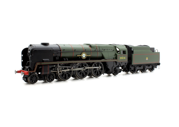 Hornby R3566 BR (Early) Merchant Navy Class (Rebuilt) 'Nederland Line' No.35014