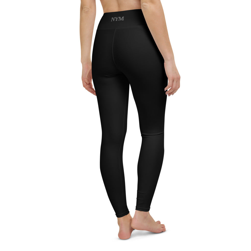 Classic Black Full Length Legging BLACK (6643536625859)