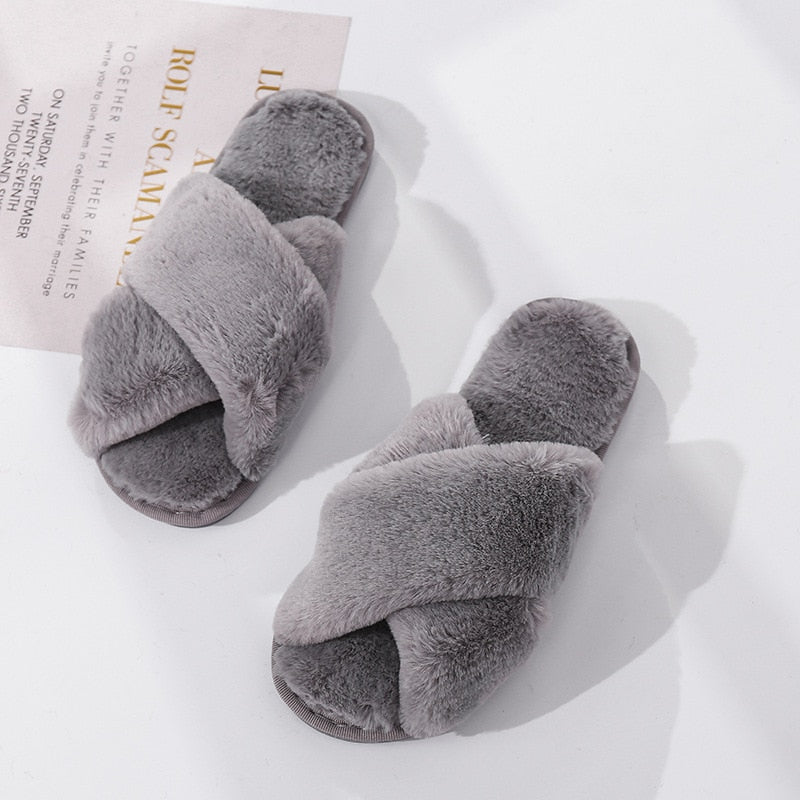 Women Cozy House Slippers (6193718001859)