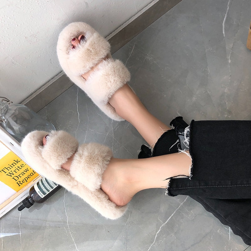 Fur Slippers (6193720754371)