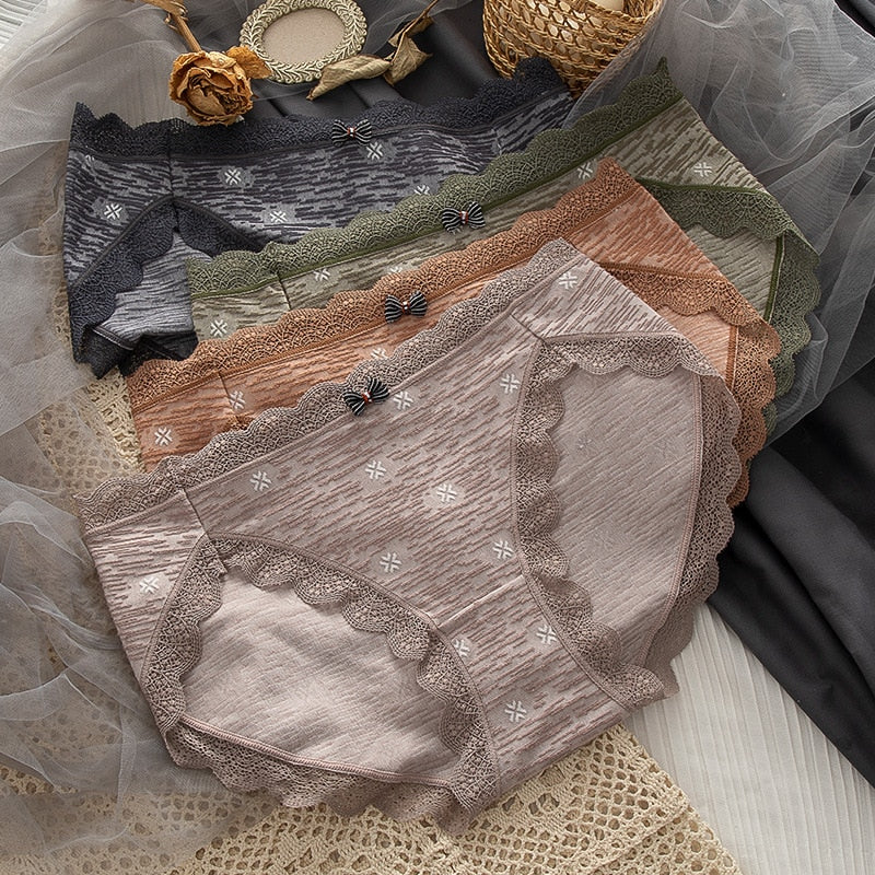*NEW* Nelly Lacy Nutral-Tone Panties (6539904483523)