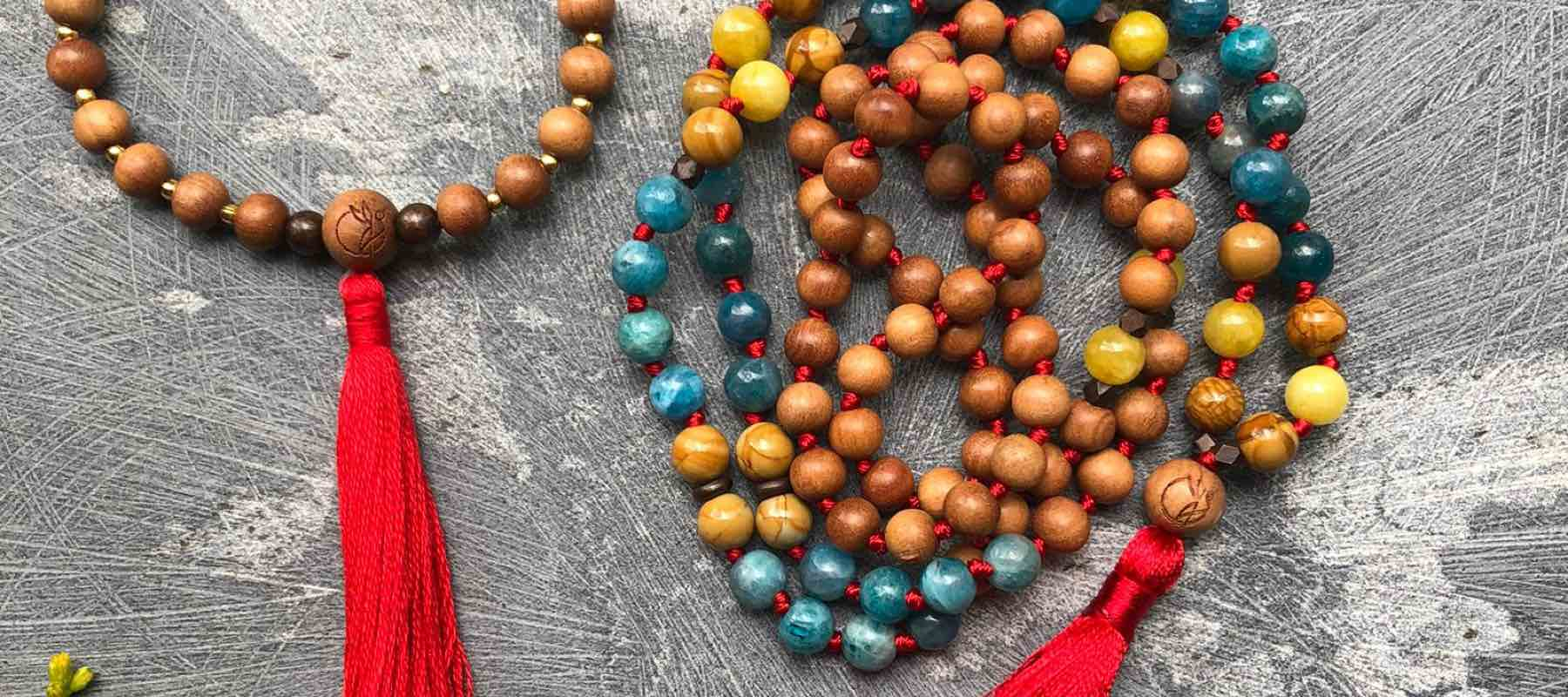 What Is A Mala Necklace Used For Positive Affirmations Mindfulness