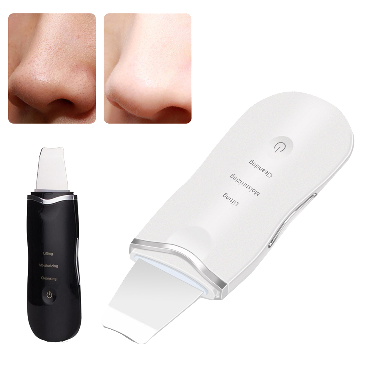 Faceou™ Ultrasonic Face Cleaning Skin Scrubber