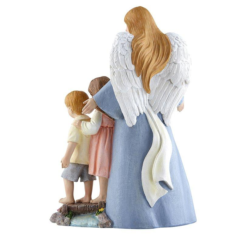 Guardian Angel Statue - 8""