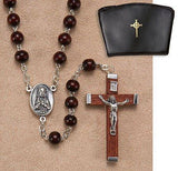 Wooden Rosary (Brown) - 6mm Bead