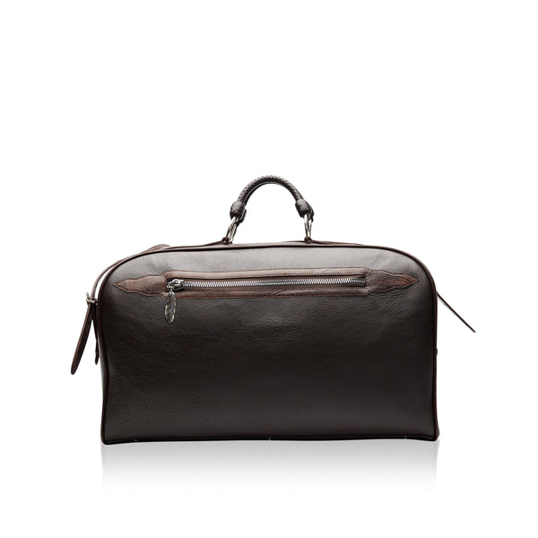 King George Bison Duffle Bag with Woodward Agate Stone