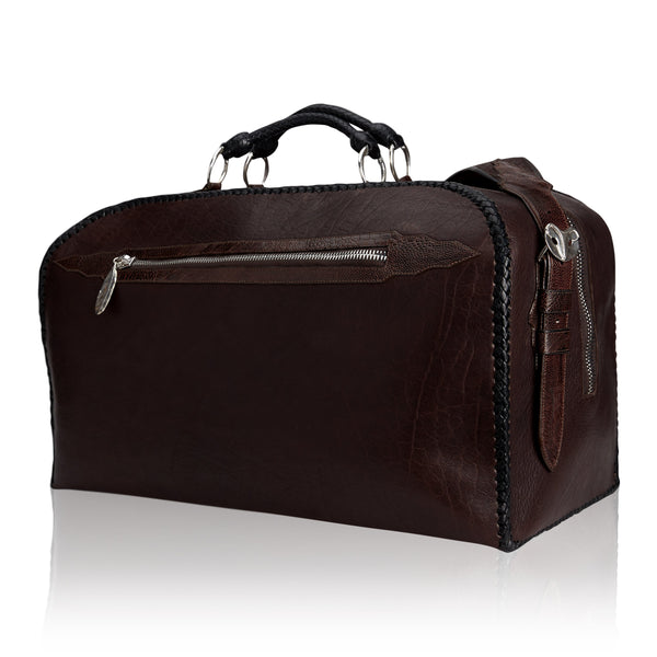 King George Duffle Bag Brown Bison Legacy