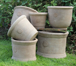 Palm House Kew Frostproof Terracotta Planter -  X Large