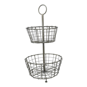 Vigo Two Tier Wire Basket