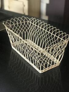 Rectangular Wire Basket Small