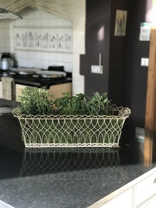 Rectangular Wire Basket Large