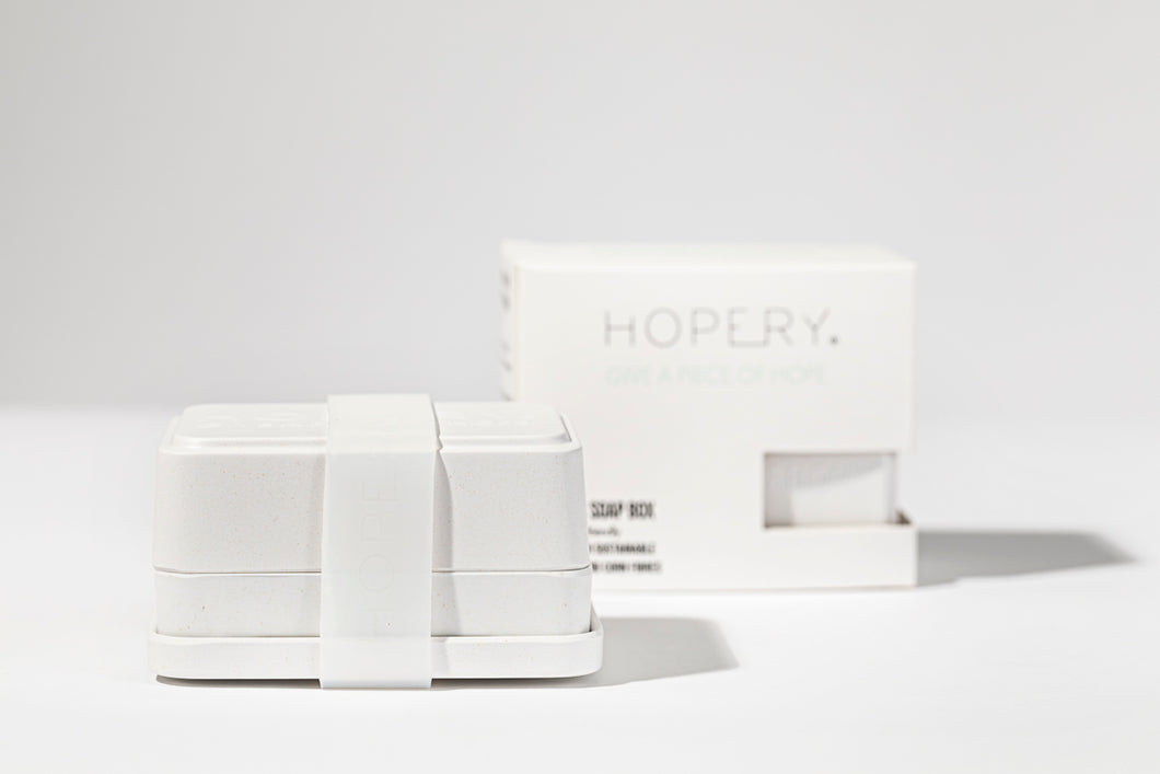HOPERY - 3 in 1 soap box WHITE 1 Stk.