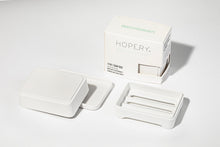 Lade das Bild in den Galerie-Viewer, HOPERY - 3 in 1 soap box WHITE 1 Stk.
