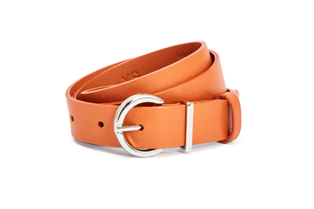 Nine to Five - Oval Belt #oder burned orange