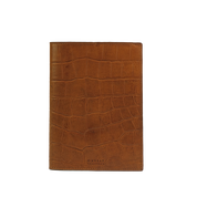 O MY BAG - NOTEBOOK COVER Classic Cognac Croco
