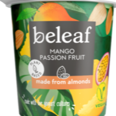 Beleaf Mango & passionfruit yoghurt sold through Spence hall
