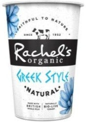 Rachels Organic Greek Style Yoghurt Sold by Spence hall