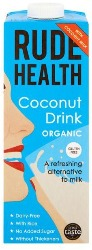 Carton of Rude Health Coconut drink sold by Spence hall