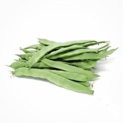 Runner beans sold by Spence hall.