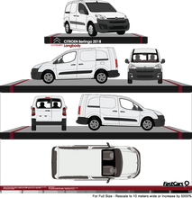 Load image into Gallery viewer, Citroen Berlingo 2018 Long Body