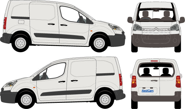 Citroen Berlingo 2010 Short Body