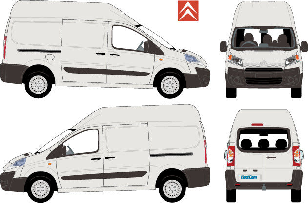 Citroen Dispatch 2010 Long Body High Roof