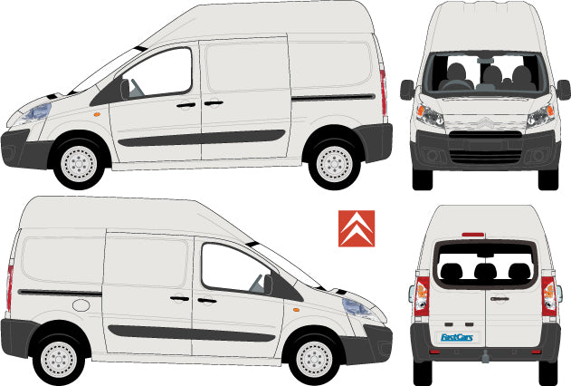 Citroen Dispatch 2010 Short Body High Roof
