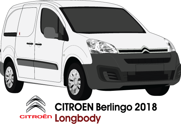 Citroen Berlingo 2018 Long Body