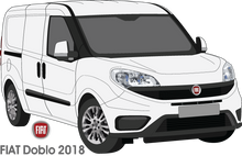 Load image into Gallery viewer, Fiat Doblo 2018 Standard Van