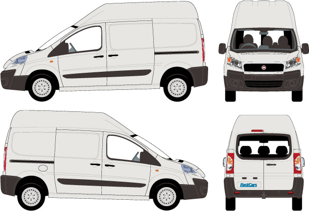 Fiat Scudo 2010 Short Body High Roof
