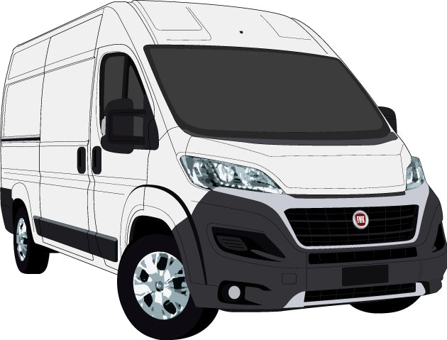 Fiat Ducato 2017 MWB Van High Roof