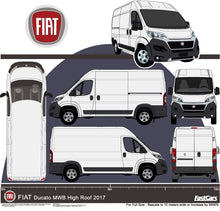 Load image into Gallery viewer, Fiat Ducato 2017 MWB Van High Roof
