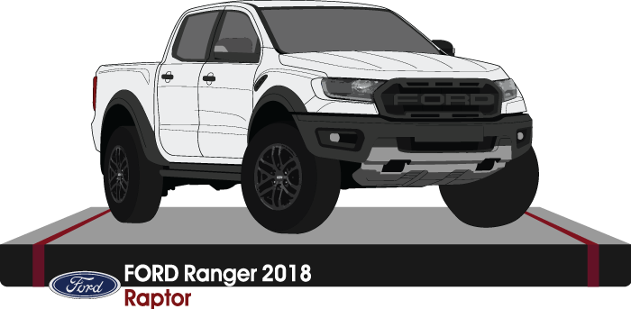 Ford Raptor 2018 double cab