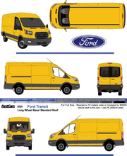 Load image into Gallery viewer, Ford Transit 2020 LWB Standard Roof