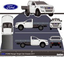 Load image into Gallery viewer, Ford Ranger 2017 Single Cab -- Cab Chassis