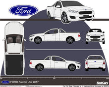 Load image into Gallery viewer, Ford Falcon 2017 standard ute