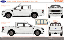 Load image into Gallery viewer, Ford Ranger 2013 Double Cab -- 4X2 Pickup ute