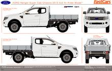 Load image into Gallery viewer, Ford Ranger 2013 Super Cab -- Cab Chassis Hi-Rider