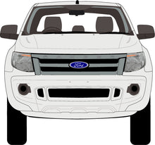 Load image into Gallery viewer, Ford Ranger 2015 Super Cab -- Cab Chassis - Hi-Rider