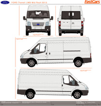 Load image into Gallery viewer, Ford Transit 2013 LWB van -- Medium Roof