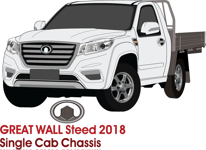 Great Wall Steed 2018 - Single Cab - Cab Chassis