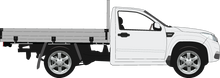 Load image into Gallery viewer, Great Wall Steed 2018 - Single Cab - Cab Chassis