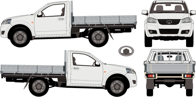 Great Wall V Series 2013 Single Cab Chassis