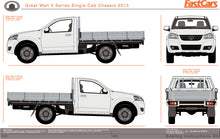 Load image into Gallery viewer, Great Wall V Series 2013 Single Cab Chassis