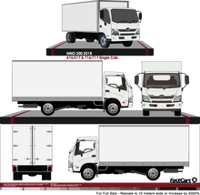 Load image into Gallery viewer, Hino 300 2018 - Single Cab - Box Rear