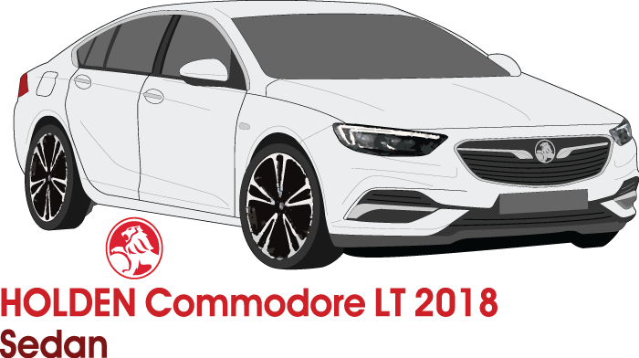 Holden Commodore 2018 LT Sedan