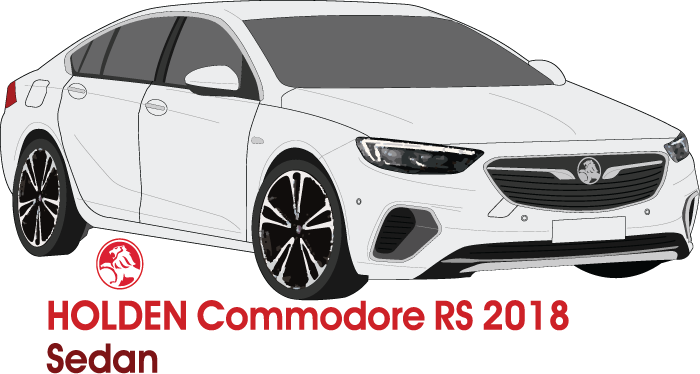 Holden Commodore 2018 RS Sedan
